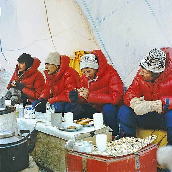 tent polish winter expedition 1980 mount everest