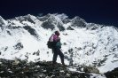 Jerzy Kukuczka at the base of Lhotse south face