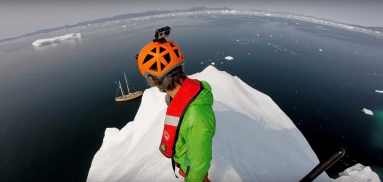 To Climb An Iceberg in 4K