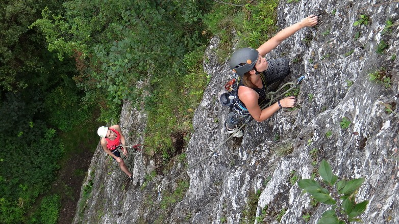 Nice multipitch routes in Poland