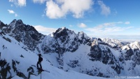 Mountaineering in Tatra Mountains