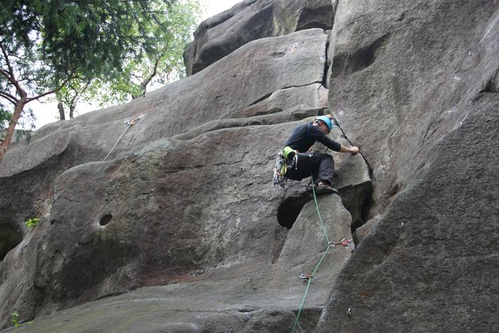 sandstone rock climbing poland