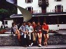 Jerzy Kukuczka and polish climbers in Chamonix