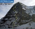 Heckmair Route on Eiger fototopo