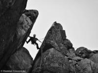Rock climbing in Poland