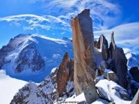 Aiguille du Midi / The Cosmiques Ridge