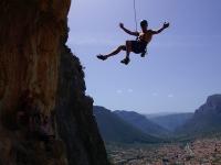 Climbing in Leonidio
