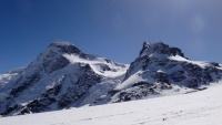 Breithorn - one of the easiest 4000 metre peaks in the Alps