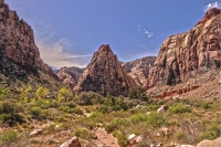 Nevada's sun-kissed Red Rock Canyon